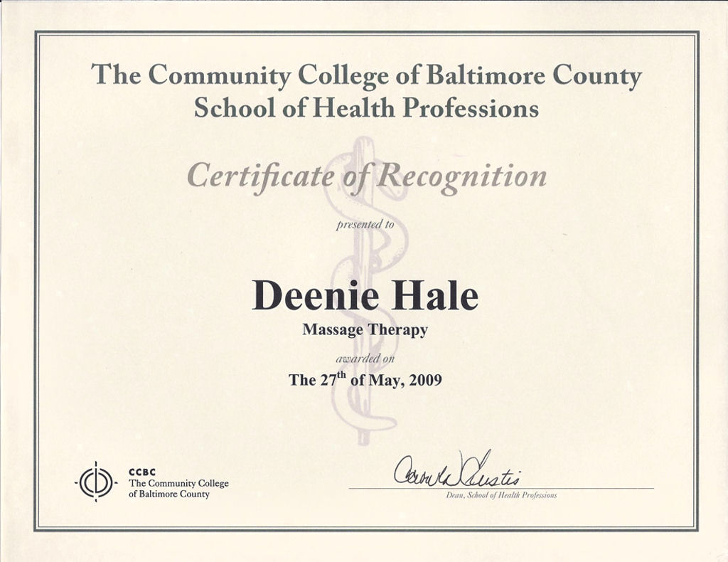 Deenie hale lmt certified fascial stretch therapist level 1 community college of baltimore county xflitez Image collections